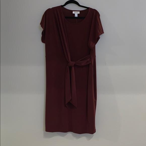 Motherhood Maternity Dresses & Skirts - Dark burgundy dress